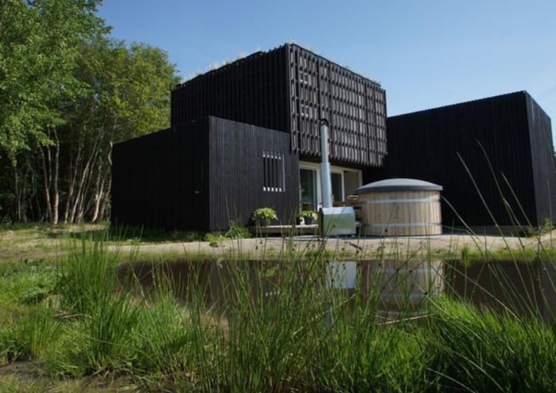 Natuurhuisje met sauna