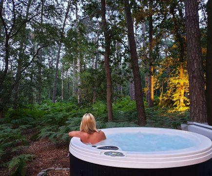 Privé sauna in natuur