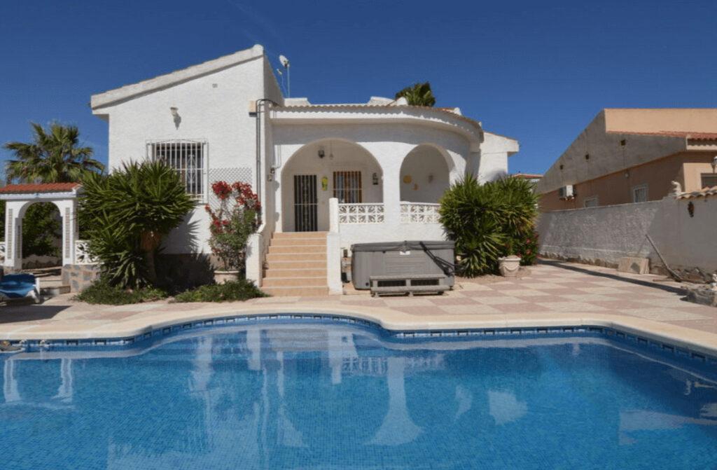 Vakantiehuis met privé zwembad Spanje