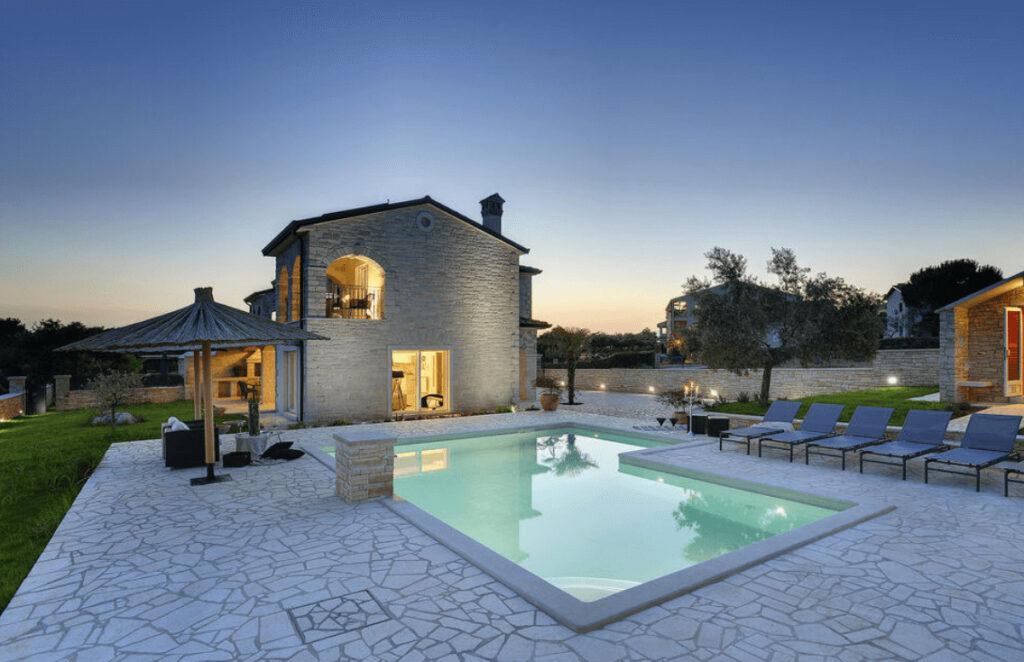Vakantiehuizen met privé zwembad Kroatië