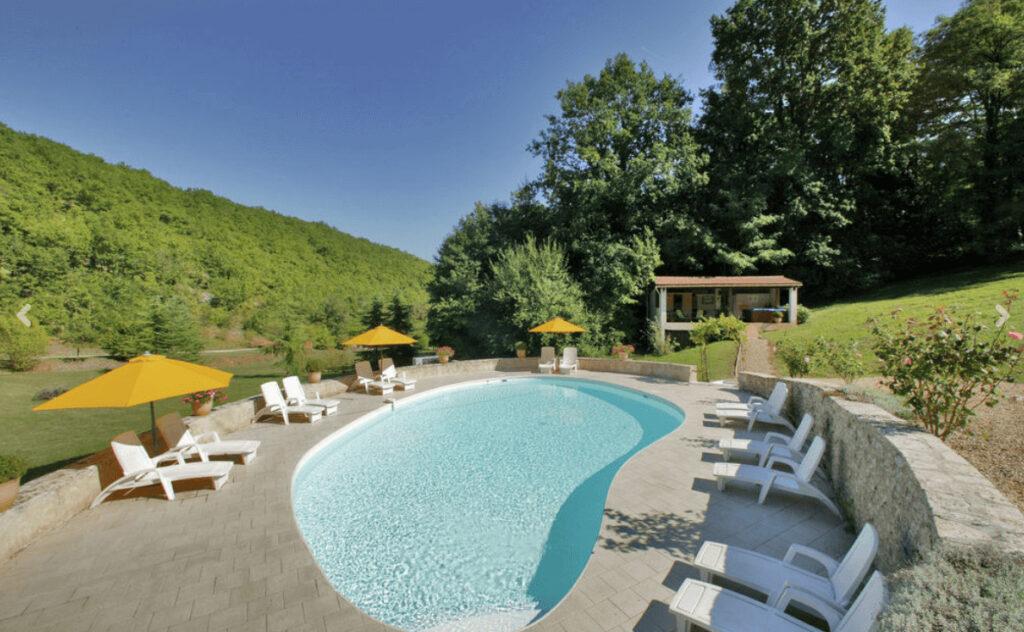 Vakantiehuizen met privé zwembad Frankrijk