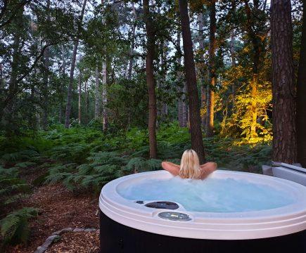 Wellness vakantiehuizen met bubbelbad