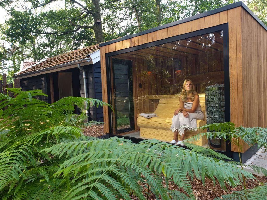 Privé wellness vakantiehuizen met sauna en Jacuzzi