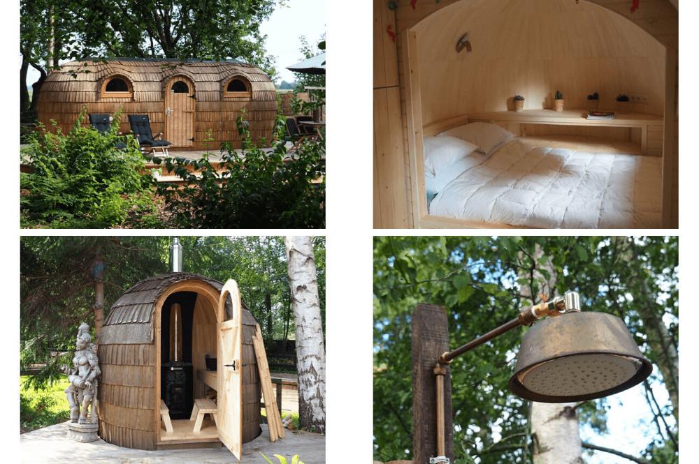 Bijzonder natuurhuisje met sauna in Friesland!