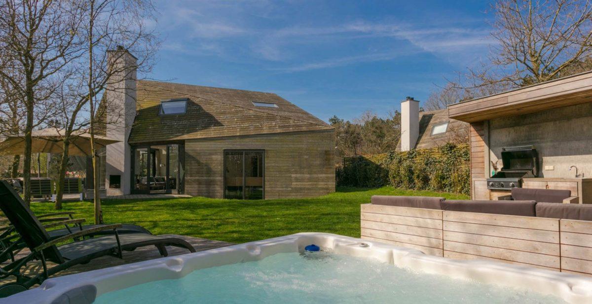Luxe vakantiepark met wellness op Texel