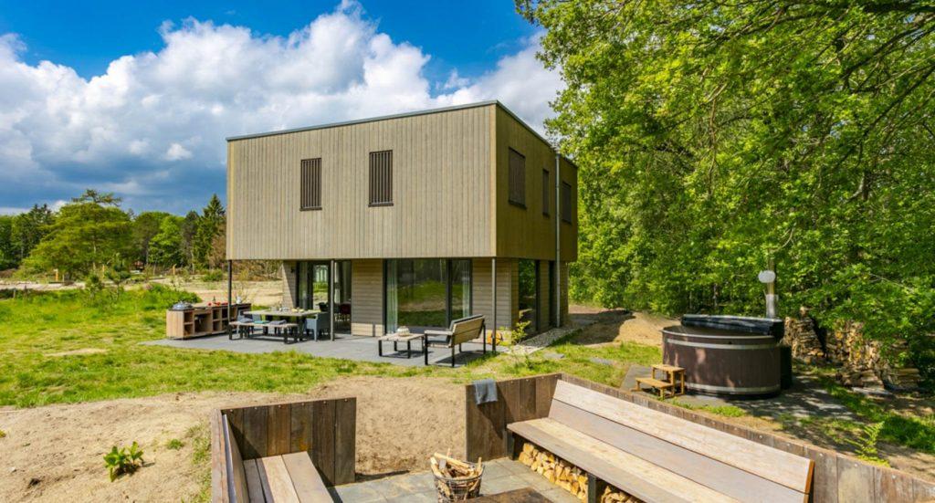 Luxe vakantiehuis met hottub in Drenthe
