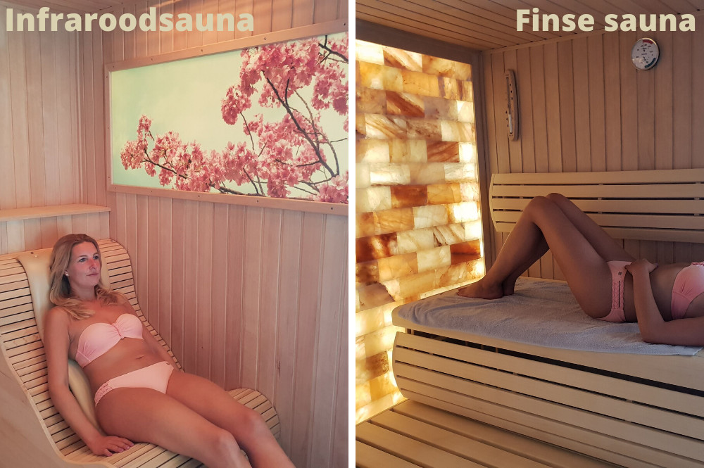 Verschil tussen een infrarood sauna, Finse sauna en stoomcabine en Turks stoombad