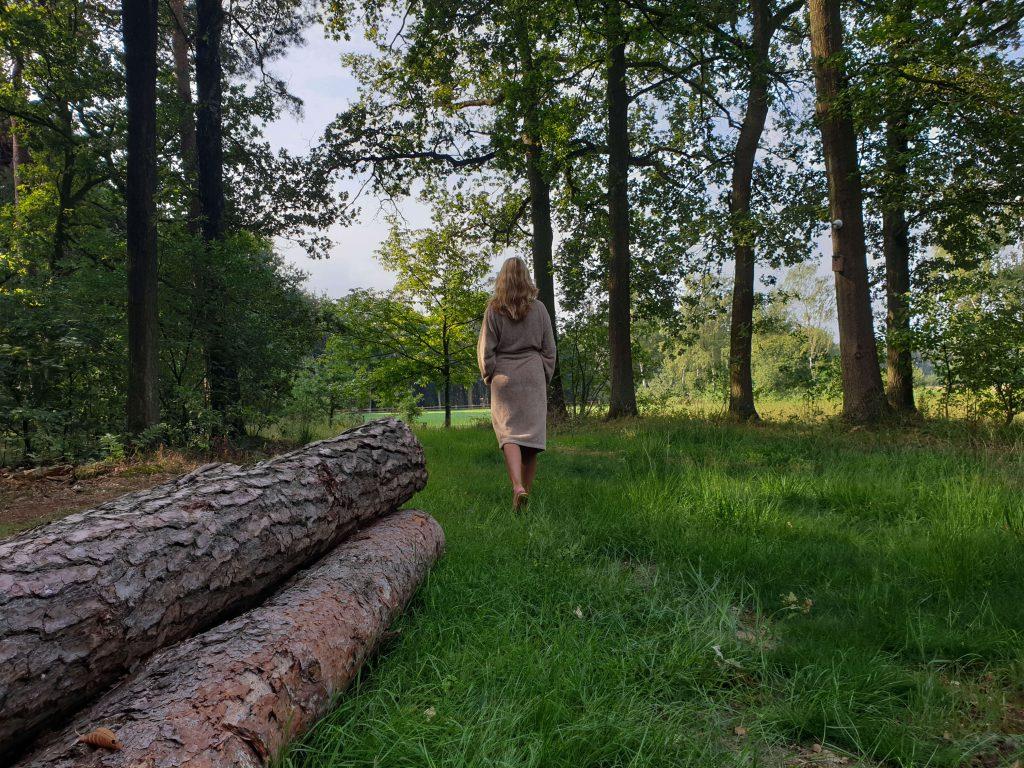 Mindful wandelen in de natuur