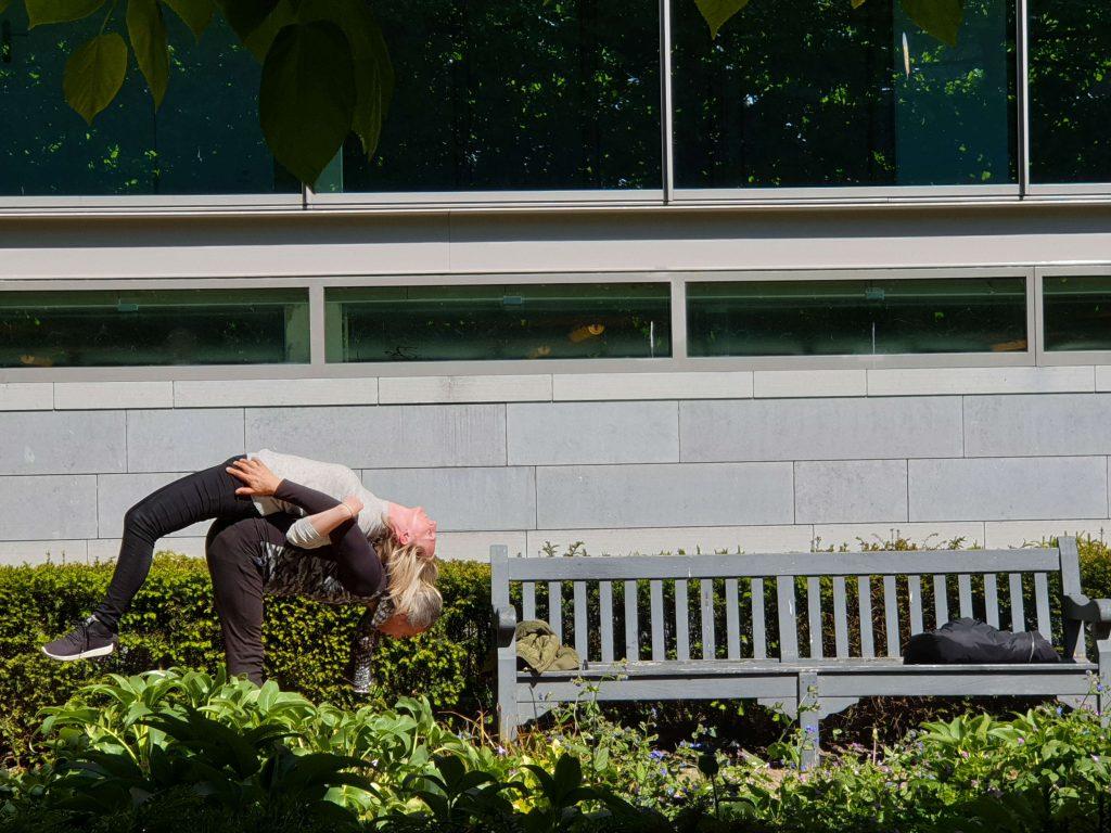Yoga in De Franse Tuin