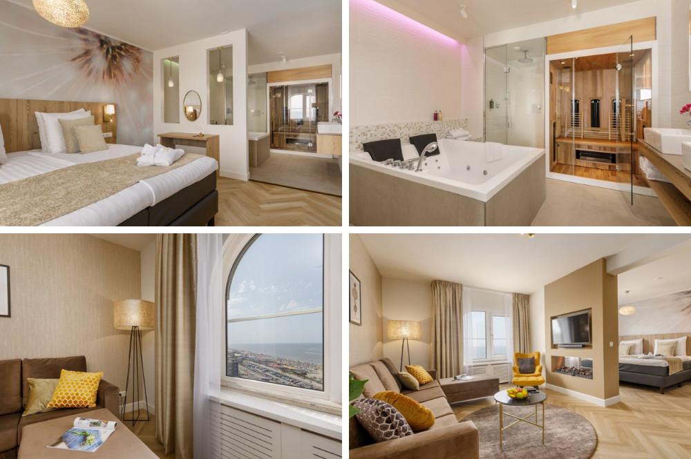 Hotel met sauna en bubbelbad - Zandvoort