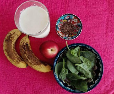 Gezonde ontbijt smoothie