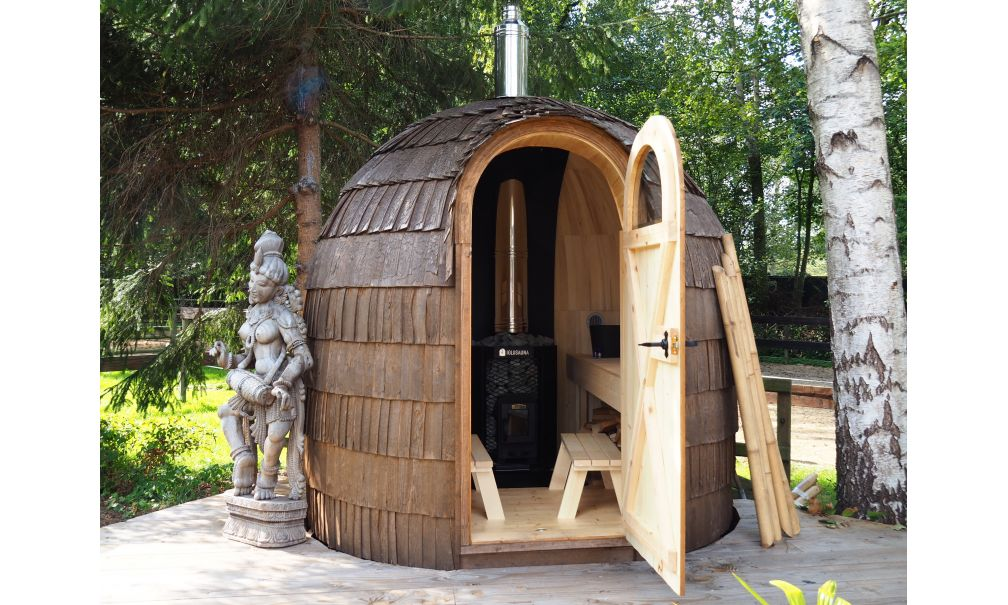 Tiny House met sauna in Friesland