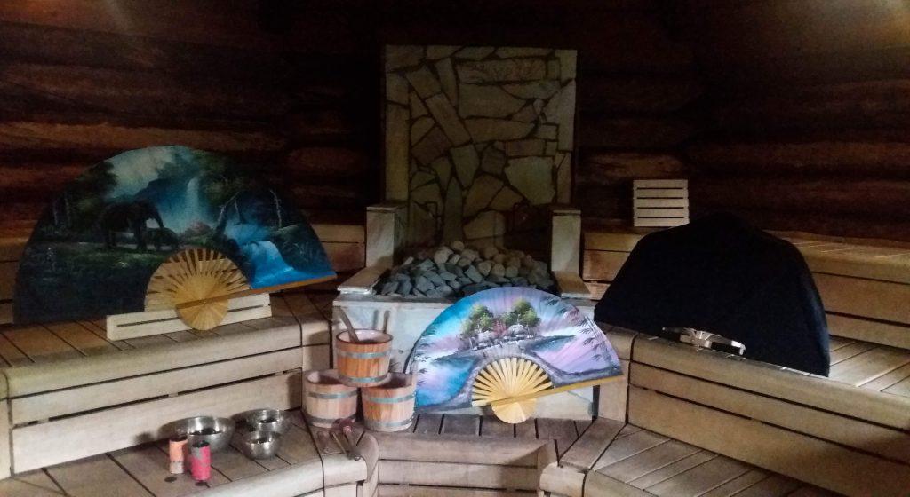 Opgieting sauna Spa Sense Brabant