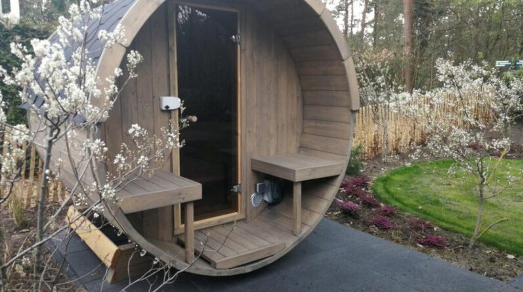 Vakantiehuis met sauna buiten Park Berkenrhode