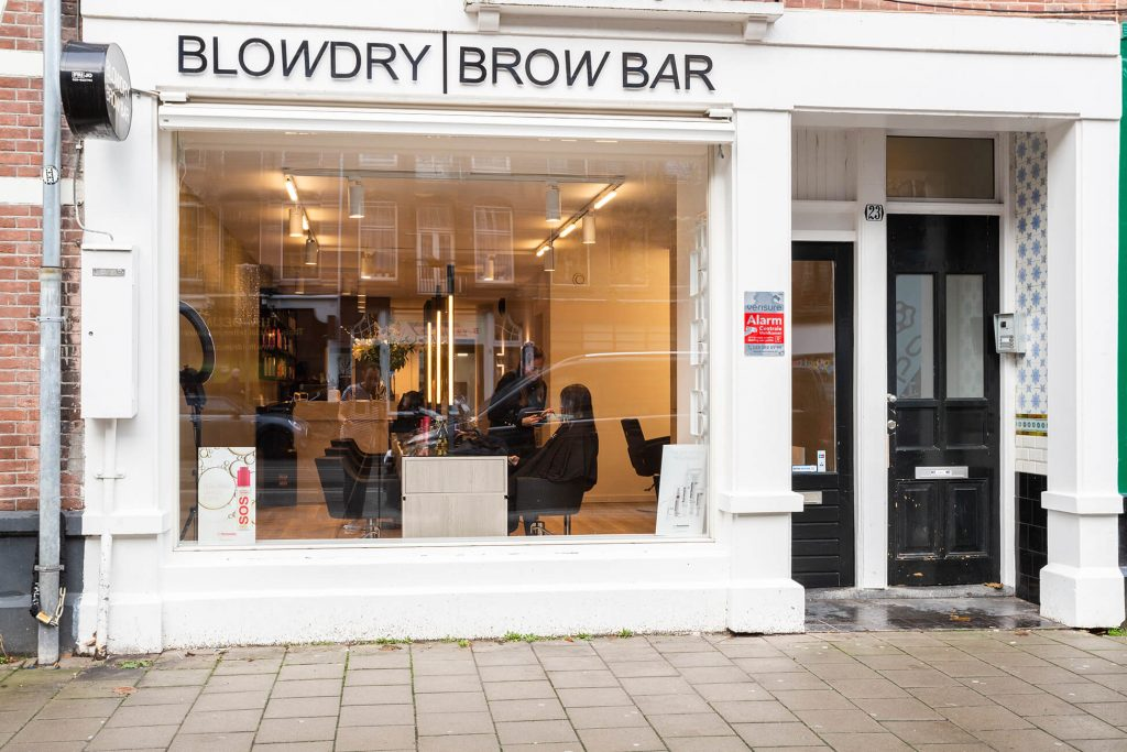 BlowDry Brow Bar Amsterdam