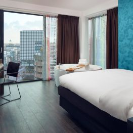 Hotel met bubbelbad op kamer