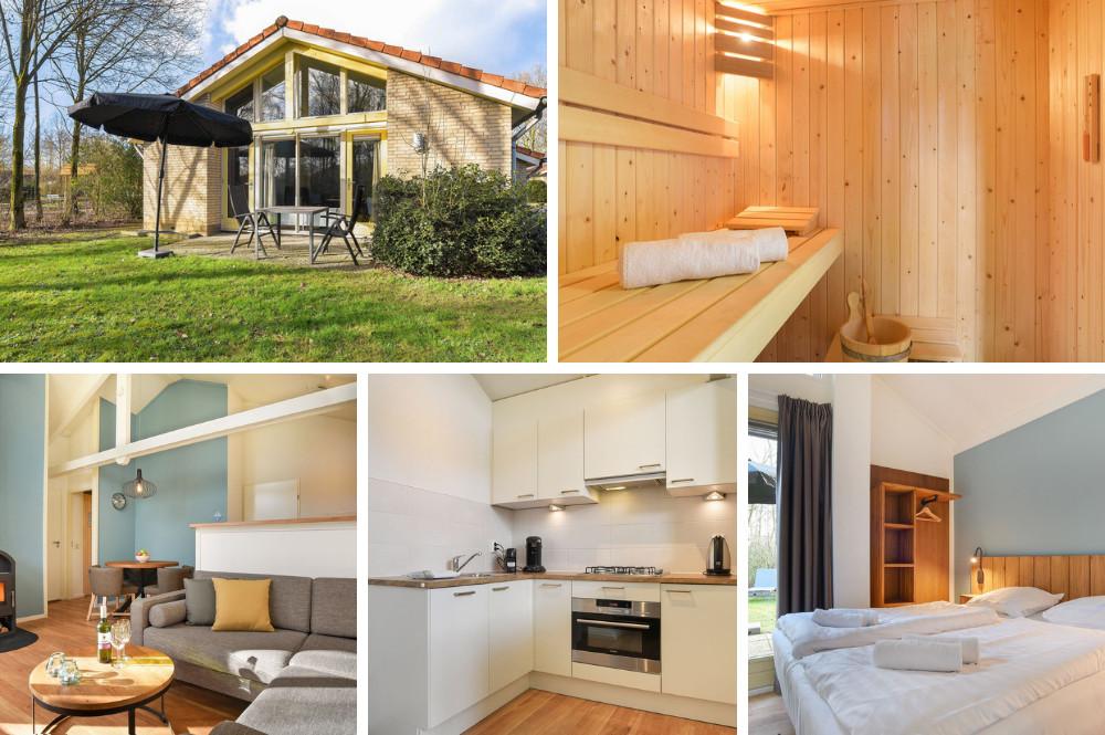 Vakantiehuis met sauna voor 2 personen - Landal Stroombroek
