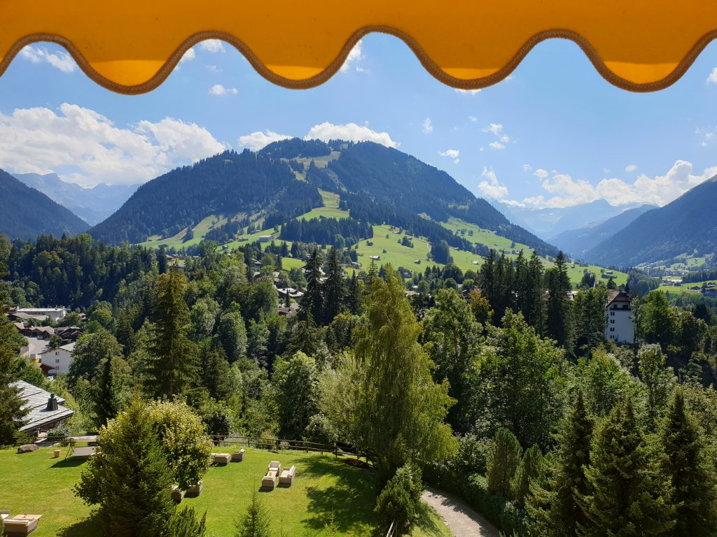 Gstaad Palace in Zwitserland