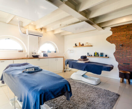 Privé sauna met massage