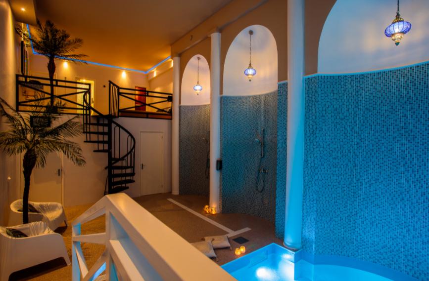 Privé sauna met Shisha arrangementen