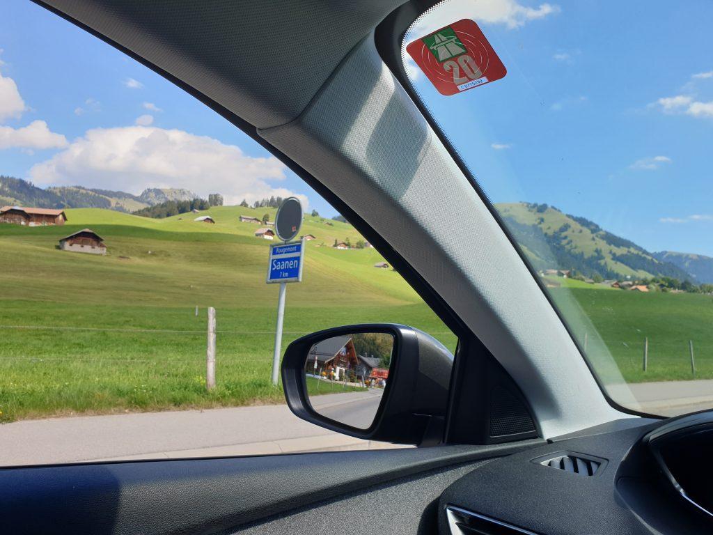 Reizen naar Gstaad