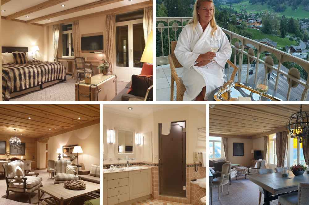Kamers Gstaad Palace