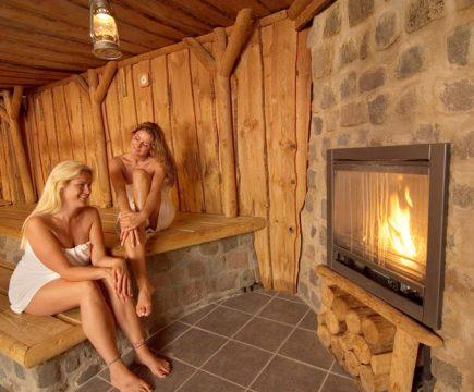 Damesdag in de sauna