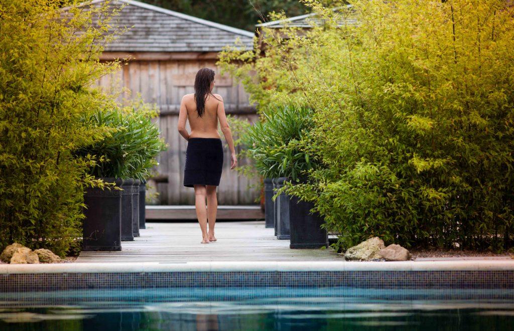 Vrouwen dagen sauna
