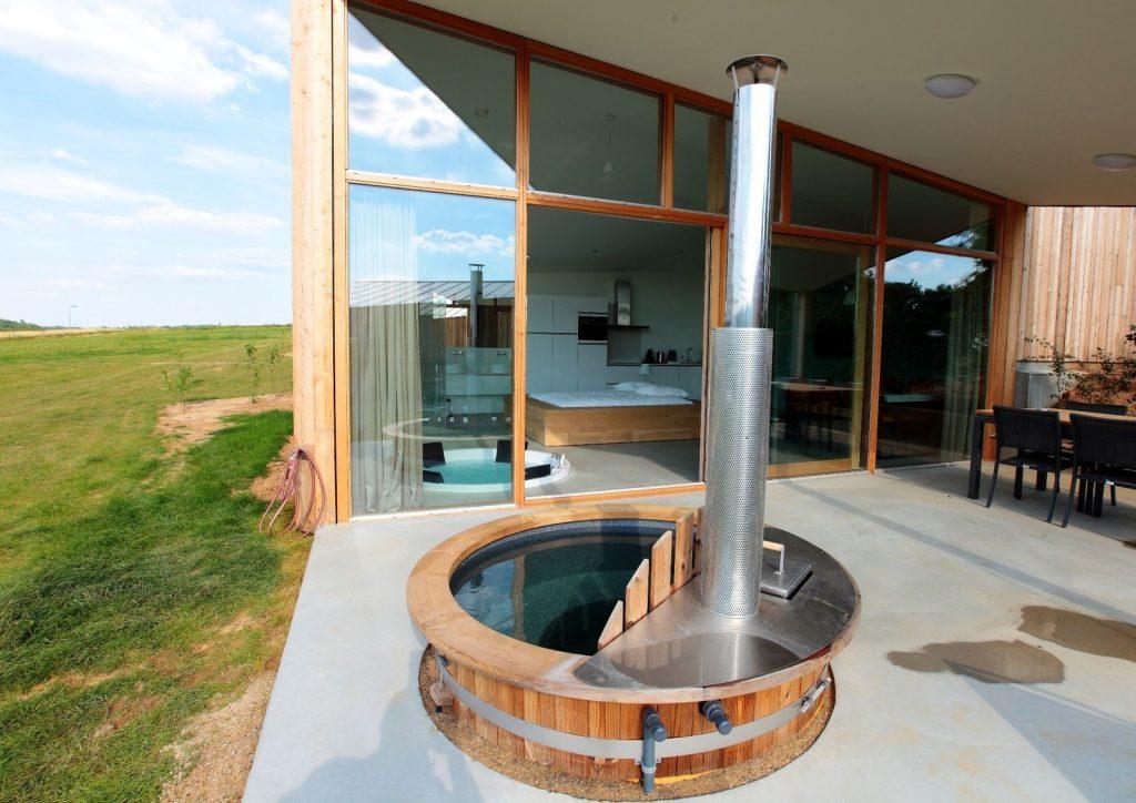 Huisjes met hottub in Nederland