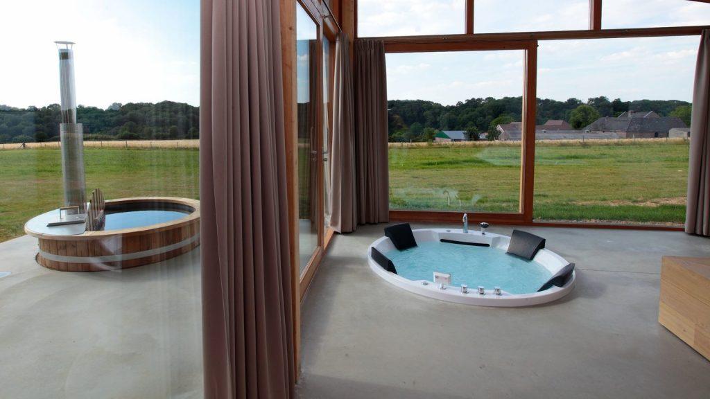Luxe vakantiehuis met hottub in Limburg