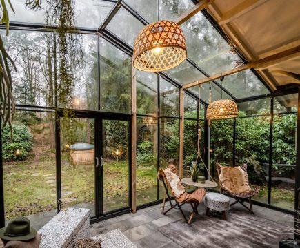 Huisje met hottub in Overijssel