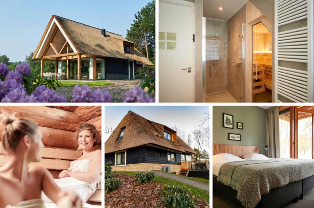 Luxe vakantiehuizen met sauna Drenthe - Landal Puur Exloo