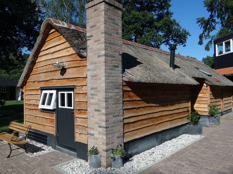 Natuurhuisje met sauna binnen in Dalfsen