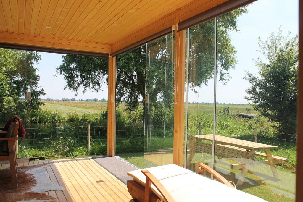 Privé sauna met opgieting en massage workshop