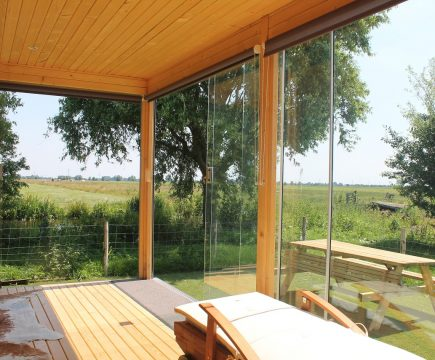 Privé sauna met opgieting en massage workshop