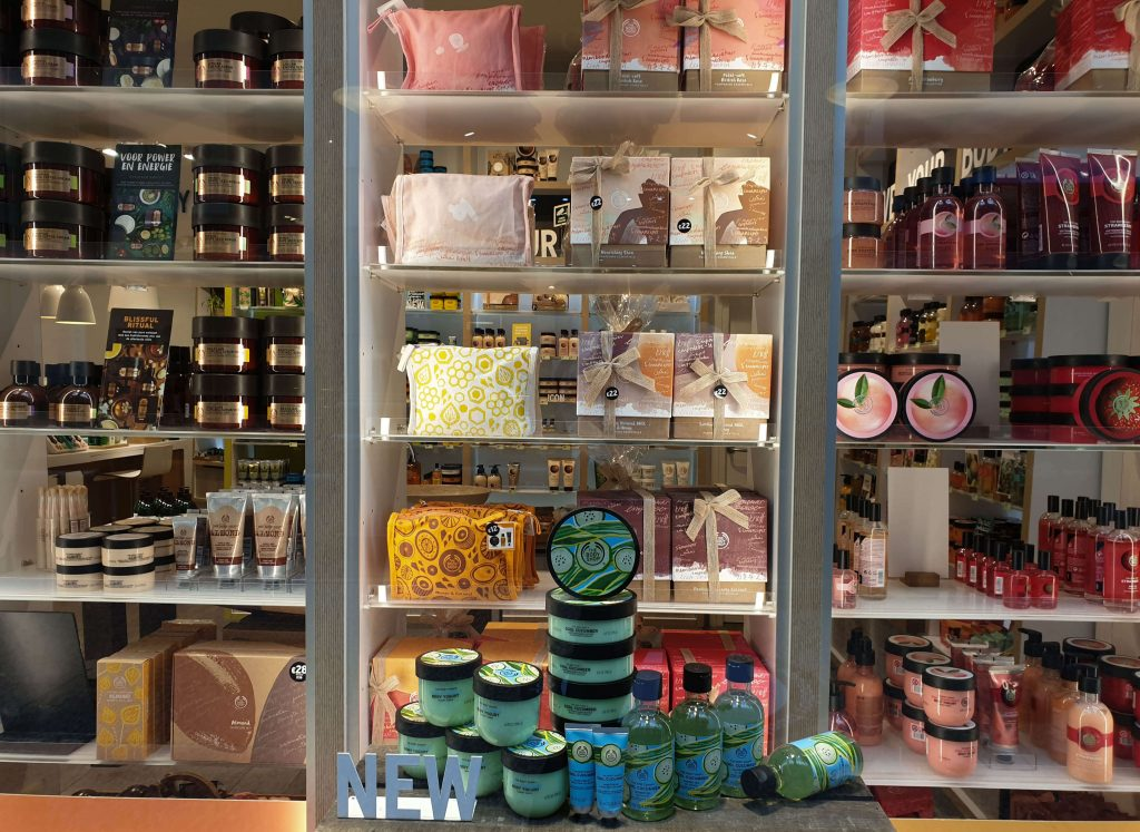 The Body Shop in de Passage