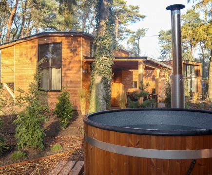 Tiny Houses met hottub Nederland