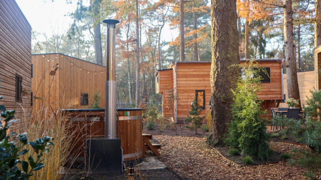 Tiny House met hottub in Beekbergen