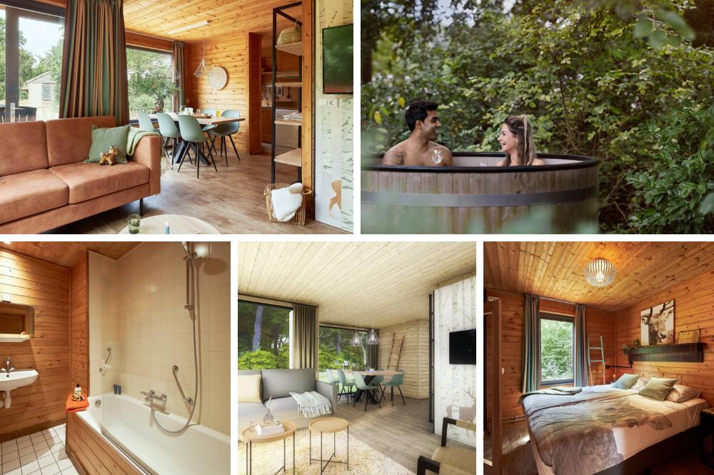 Huisje met hottub in tuin in Brabant