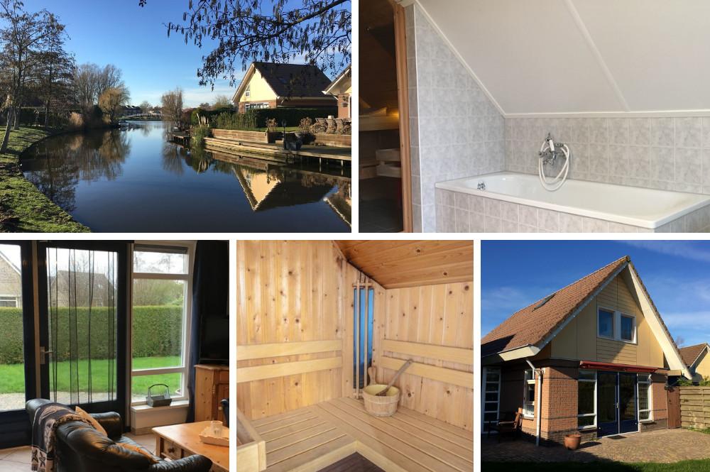 6 persoons vakantiewoning met ligbad en sauna binnen - Bungalowpark Zuiderzee - Medemblik