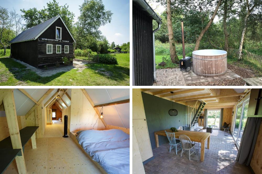 Airbnb natuurhuisje met hottub - Nationaal Park Alde Faenen
