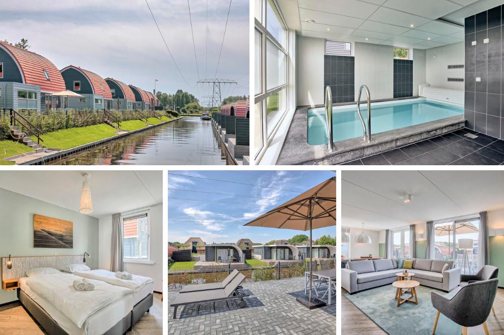 Bungalow met binnenzwembad en sauna - Drenthe