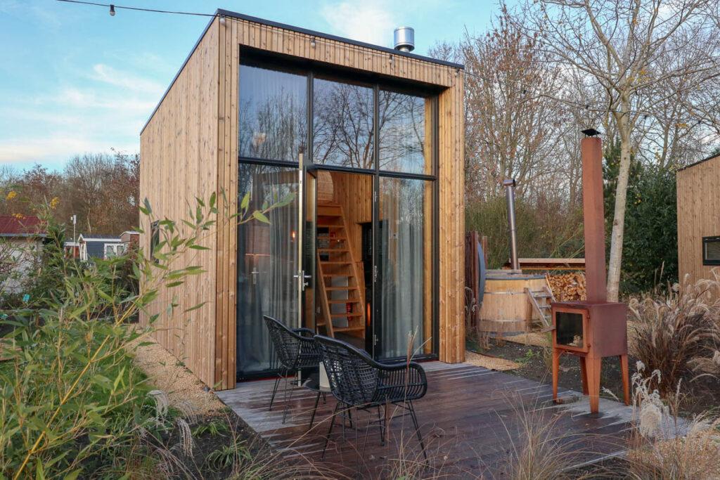 Droomparken Tiny House met hottub