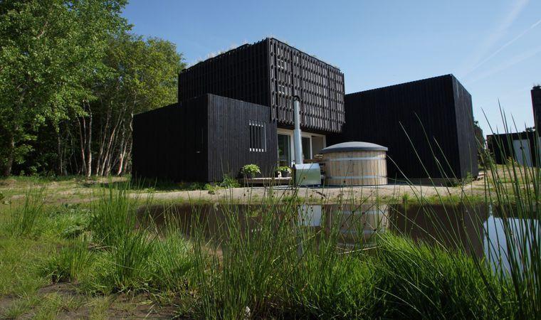 Natuurlodge met sauna en hottub en openhaard - Drenthe