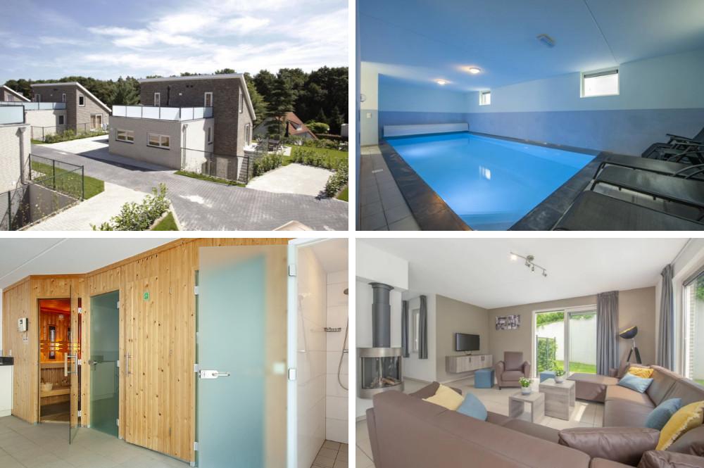 Zwembadvilla met binnenzwembad en sauna - Limburg