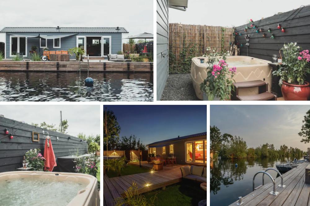 Airbnb met jacuzzi aan het water, Vinkeveen - Utrecht