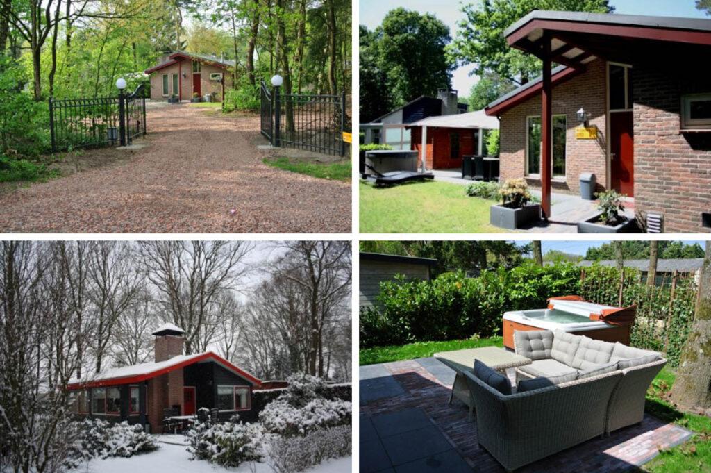 Wellness bungalows met openhaard & jacuzzi buiten – Haeghehorst Ermelo Veluwe