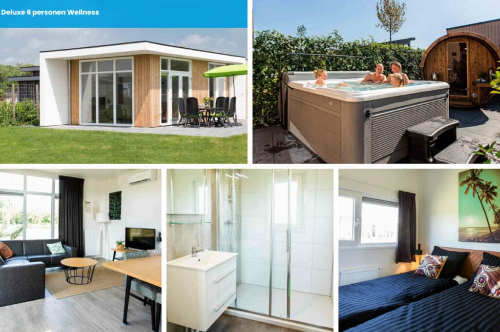 Vakantiehuis met sauna en Jacuzzi buiten - Résidence Valkenburg