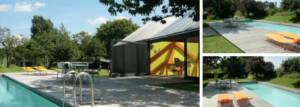 Design wellness huis met sauna en zwembad, Limburg
