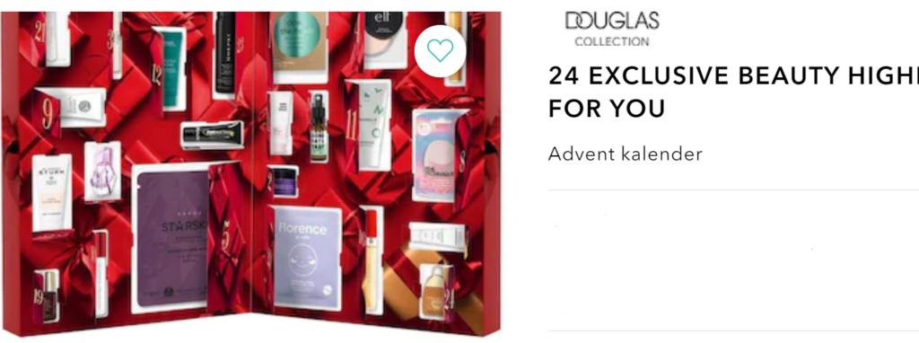 Adventskalender Douglas Collection 2021